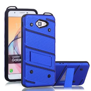 Galaxy S7 Edge ケース, Awesome Foldable Movie Stand Special Patent Design 2 In 1 Armor Slim カバー,...