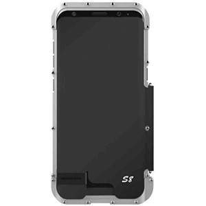 Galaxy Note8 Justicial Warrior Iron Hero ケース[Screen Protector] TAITOU Cool Tough Rugged Metal Frame...