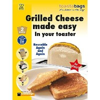 Toastabags - Grilled Cheese Made Easy in Your Toaster. Bags by Toastabags