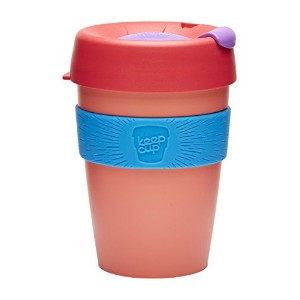 KeepCup Travel Mug, Tea Rose, 12 oz by KeepCup