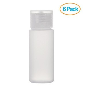 OTO Travel Size Squeeze Bottle Set, 30ml (1oz) with Labels by OTO
