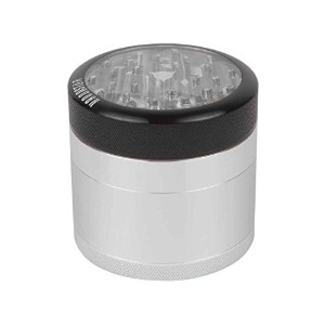 "2.5 "" Kannastor 4pc Clear Top Grinder"