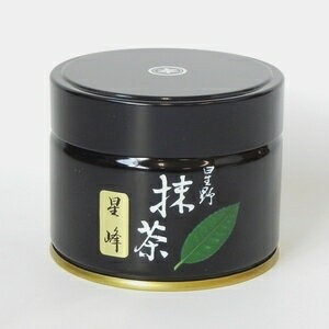 【抹茶】「星峰」100g(濃茶)/Powder Matcha Green Tea/Seihoh/100g/Yame Hoshinoen