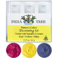 India Tree Gourmet Spices & Specialties, Nature's Colors, Decorating Set, 2.25 oz (63 g)