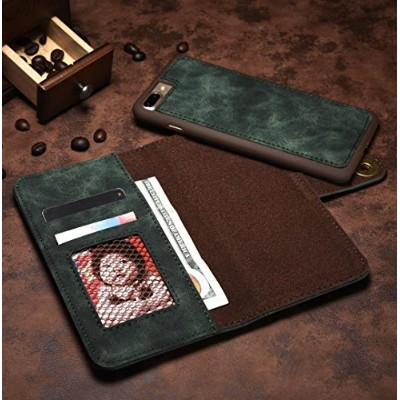 Galaxy Note8 Wallet ケース, Cool Vintage Cowboy RetroStyle Separable Foldable Slim カバー, Money Name ID...