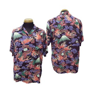Sun Surf(サンサーフ)Hawaiian Shirt(アロハ)ショートスリーブTEAM OF DORAGONS ss34868-10SS