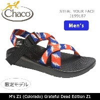 【35%OFF】2017 Chaco チャコ 限定モデル メンズ M's Z1 (Colorado) Grateful Dead Edition Z1 グレイトフルデット STEAL YOUR...