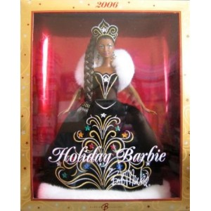 Barbie(バービー) - 2006 Holiday Barbie(バービー) AA by Bob Mackie - Collector Doll 2006 Mattel ド