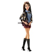 輸入バービー人形 Barbie Style Raquelle Gold-Denim Jacket Doll