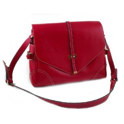 Yippydada Foxy Real Leather Baby Changing Bag (Red )