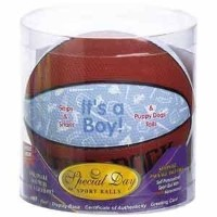 It's A Boy Basketball by Special Day Sport Balls