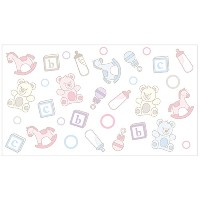 Ubbi 10050 Diaper Pail Nursery Decals by Ubbi