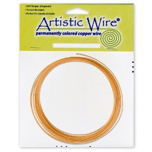 Artistic Wire 16-Gauge Natural Coil Wire, 10-Feet by Artistic Wire