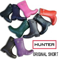 ハンター 靴 オリジナル ショート 23758 HUNTER ORIGINAL SHORT メンズ・レディースBLACK・AUBERGINE・CHOCOLATE・DARKOLIVE・FUCHSIA...