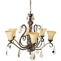 Artcraft Lighting Vienna 6-Light Chandelier by Artcraft Lighting