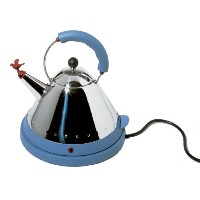 Alessi MG32AZ/USA Michael Graves Electric Kettle, Blue by Alessi