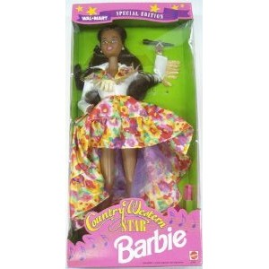 Barbie(バービー) 1994 Country Western Star Walmart Special AA Black Hair ドール 人形 フィギュア