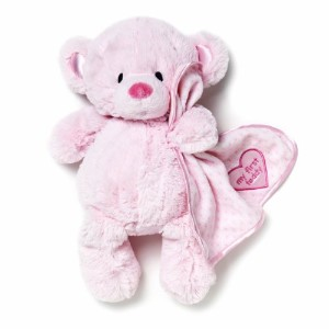 Nat and Jules Plush Toy, Pink My First Teddy Bear by Nat and Jules