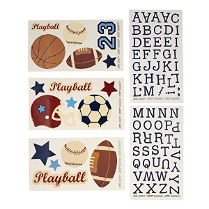 NoJo Play Ball Sports Wall Decals by NoJo