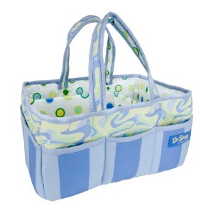 Trend Lab Dr. Seuss Storage Caddy, Oh, the Places You'll Go! Blue by Trend Lab