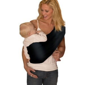 Mamma's Milk Invisibly Adjustable Baby Sling (Large/Extra Large, ORGANIC Black) by Mamma's Milk
