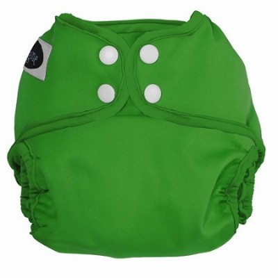 Imagine Baby Products All-In-Two Shell Snap Diaper Cover, Emerald by Imagine Baby Products