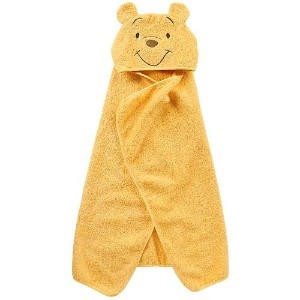 Disney Baby Puppet Head Towel Set, Yellow/White Winnie The Pooh by Disney