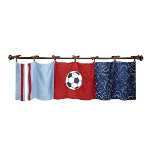 NoJo Play Ball Window Valance by NoJo