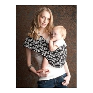 Seven Everyday Slings Infant Carrier Baby Sling Solitaire Black Size 6 Xlarge by Seven Everyday Slings