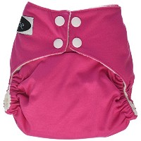 Imagine Baby Products Stay Dry All-In-One Snap Diaper, Raspberry by Imagine Baby Products
