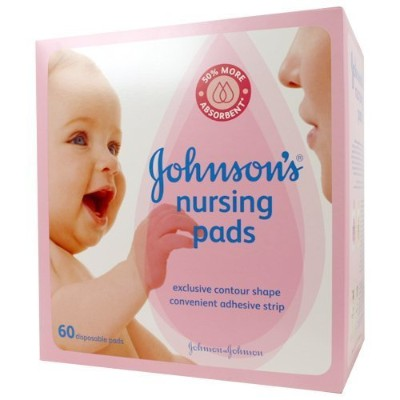 Johnson's Nursing Pads - Contour - 60 ct - 2 pk by Johnson's