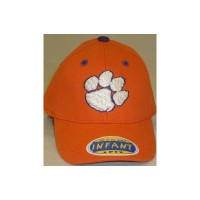 TopOfTheWorld clem-i1fit-or Clemson Tigersオレンジ幼児one-fit帽子