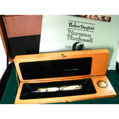 PARKER DUOFOLD Norman-Rockwell【パーカー デュオフォールド】 ノーマンロックウェル 限定品