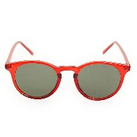 【セール実施中】【送料無料】PLASTIC SUNGLASSES SATURN 05172045-RED
