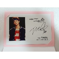 [KPOP] SM TOWN  公式 GOODS -  NCT TAEIL Birthday Event Limited Postcard