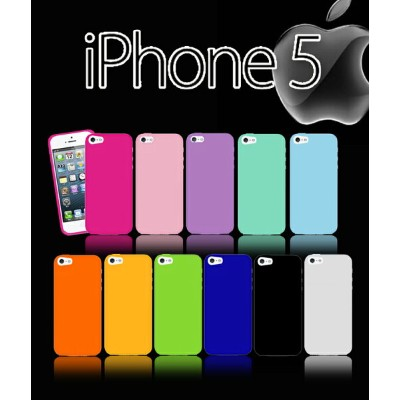 【iPhone5s iPhone5 ケース】 カラージェリーケース【iphone 5 5s カバー iPhone5sケース i-Phone アイフォン5s iphone5s アイフォン 5s...