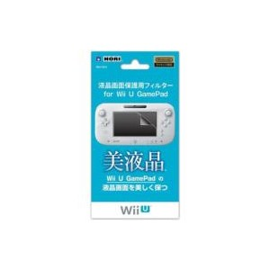 Game Accessory (Wii U) / 液晶画面保護用フィルター for Wii U GamePad 【GAME】