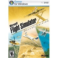 Microsoft Flight Simulator X Deluxe (輸入版)