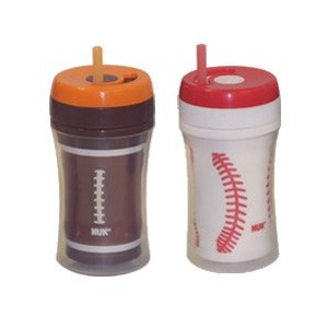NUK Gerber Graduates Insulated Straw Sports Cup 9oz - 2pk by NUK