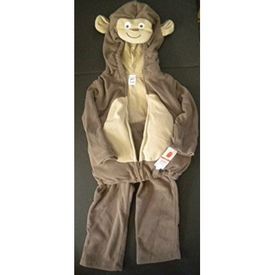 Carter's Baby Costume Monkey 2 Pieces Pants Hooded Top Brown NEW (6-9 months) by Carter's