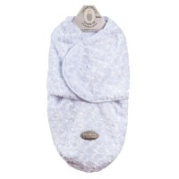 Baby's Small Rose Motif Swaddle Bag for 0-3 Months By Blankets And Beyond White by Blankets and...