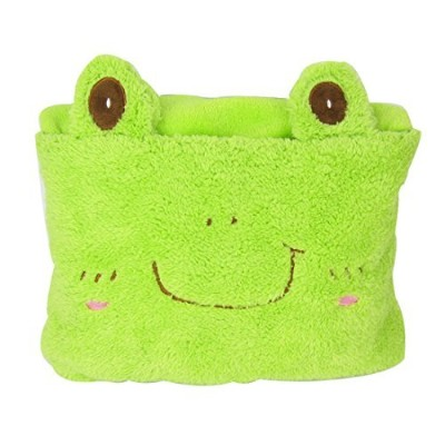 MyKazoe Kids Plush 2-in-1 Pillow Blanket (Frog) by MyKazoe