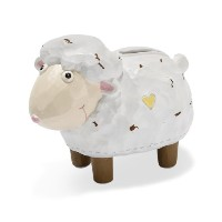 Dicksons Coin Bank, White Lamb by Dicksons