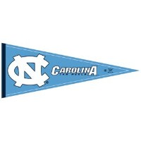 University of North Carolina Tar Heelsペナント( 2 - Pack )