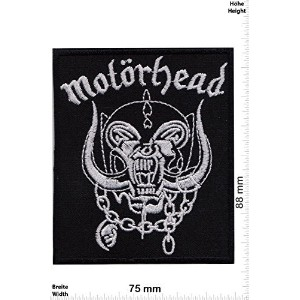 Motorhead Rock Music Band Motorcycle Patch Logo Sew Iron on Embroidered Appliques Badge Sign...