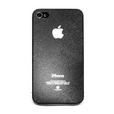 ESENTRA iPhone4用液晶保護フィルムと背面保護フィルムセット (背面ヘアライン文様) 【6000円以上送料無料】 05P11Aug14 【RCP】