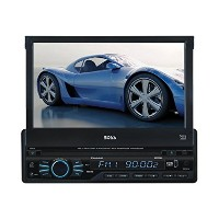 【送料無料】【Boss Audio BV9965I DVD Player with Single-DIN 7-Inch Touchscreen TFT Monitor and AM/FM...