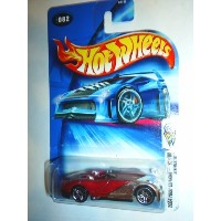 【送料無料】【Hot Wheels 2004 First Editions Xtreemster 82/100 RED 082 1:64 Scale】 b0017d02do