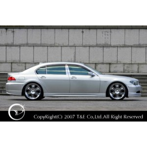 【BMW 7 Series E65/66 | ティーアンドイー】VERTICE DESIGN BMW E65/66 7series Side Step Short ~2005.5