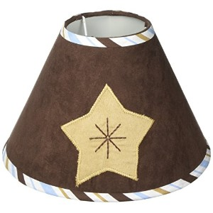 GEENNY Lamp Shade, Moon Star by GEENNY